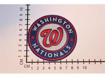 Washington Nationals Baseball Broderat tygmärke att stryka på | Iron-on patch