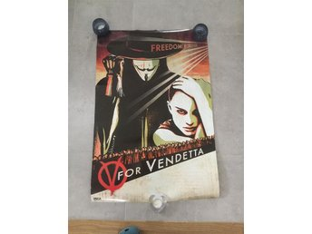 Filmaffisch V for vendetta 61 x 91 cm