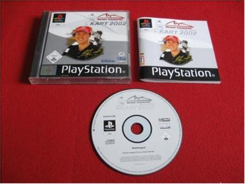 MICHAEL SCHUMACHER RACING WORLD KART 2002 till Sony Playstation PSone