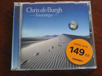 Chris De Burgh - Footsteps CD (2008) American Pie,Africa,Without you,First Steps