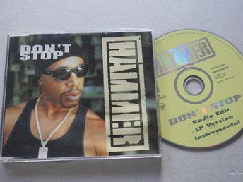 Hammer - Don't Stop 1994 CD Singel