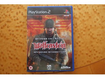 Return to Castle Wolfenstein: Operation Resurrection PS2 PAL