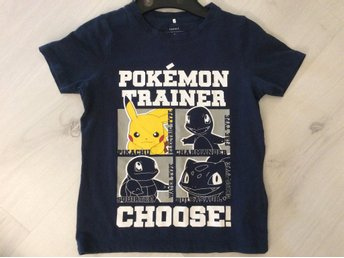 T-shirt Pokémon från Name it, strl 116!