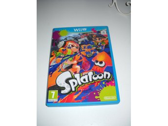 SPLATOON Wii U Spel