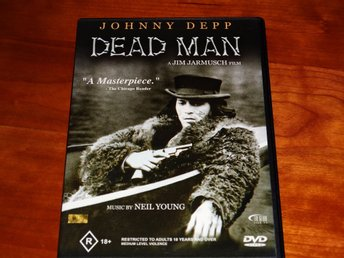 DEAD MAN ~ Johnny Depp, Iggy Pop, filmmusik Neil Young ~ original engelsk utgåva