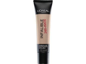 Loreal Paris  Infallible 24 H Matte  Foundation, Natural Rose 12