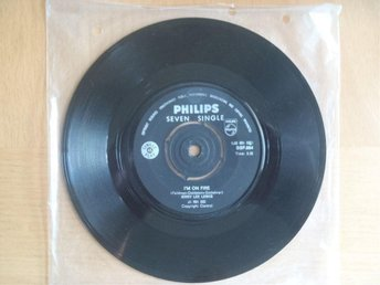 Jerry Lee Lewis I´m On Fire rare South Africa 45