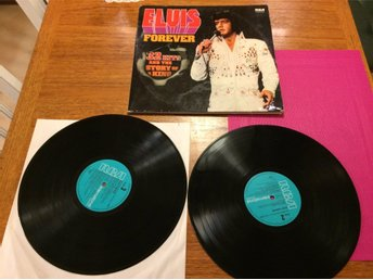 ******LP VINYL ELVIS PRESLEY FOREVER 32 HITS AND THE STORY OF THE KING*****