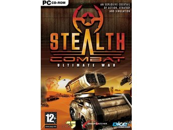 StealthCombat - Ultimate War/ PC spel /NY inplastad JULKLAPP