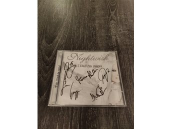 Nightwish *SIGNERAD med Tarja+Band* - Wish I Had An Angel - CD Single