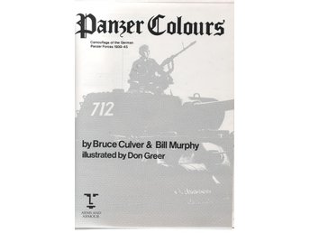 Panzer Colours -  Del 1 - 3 - Bruce Culver, Bill Murphy