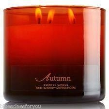 BATH & BODY WORKS 3-wicks Candle AUTUMN **FYNDA** - Göteborg - BATH & BODY WORKS 3-wicks Candle AUTUMN **FYNDA** - Göteborg