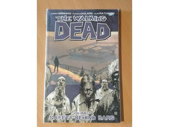 the walking dead volume 3, safety behind bars