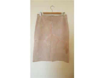 Mocca kjol stl L från Saint tropez, beige mocka bohemisk boho - Malmö - Mocca kjol stl L från Saint tropez, beige mocka bohemisk boho - Malmö