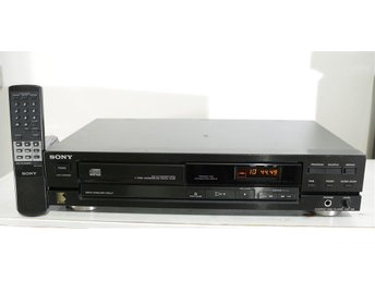 Sony CDP-190 Stereo Compact Disc Player