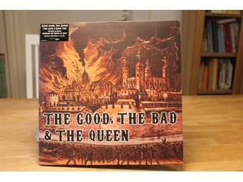 The Good, the Bad & the Queen – s/t, UK 1st (Damon Albarn, Blur)