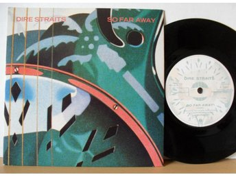"Dire Straits So far away 7"" singel 1985"