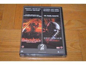 Children Of The Corn IV / Hellraiser Hellseeker - 2 in 1 DVD INPLASTAD - Töre - Children Of The Corn IV / Hellraiser Hellseeker - 2 in 1 DVD INPLASTAD - Töre