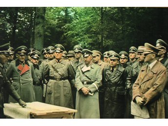 Tredje Riket WW 2 Adolf Hitler with his Entourage