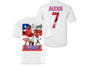 T-shirt - Alexis Sanchez - Arsenal & Chile tröja med tryck fram & bak 140cl - Markaryd - T-shirt - Alexis Sanchez - Arsenal & Chile tröja med tryck fram & bak 140cl - Markaryd
