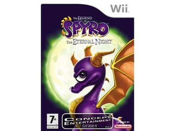 SPYRO – THE ETERNAL NIGHT (komplett) till Nintendo Wii