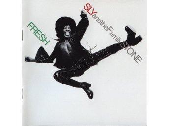 Sly & The Family Stone - Fresh (1991) CD, Epic EK 32134, OOP, Like New, Funk - Ekerö - Sly & The Family Stone - Fresh (1991) CD, Epic EK 32134 (US), OOP, Like New. Classic Funk. - Ekerö