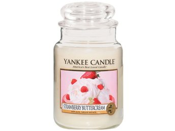 Yankee Candle Large Jar Strawberry Buttercream Candle 623g