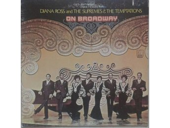 Diana Ross And The Supremes & The Temptations* On Broadway* Soundtrack, Soul LP
