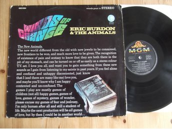 Eric Burdon & The Animals- Winds Of Change