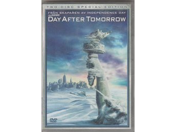 THE DAY AFTER TOMORROW - TWO DISC SPECIAL EDITION DVD SVENSK TEXT