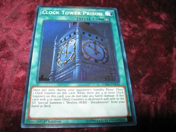 Yu Gi Oh Clock Tower Prison Lehd Ena19 330120844 ᐈ Ghost 64 Pa Tradera