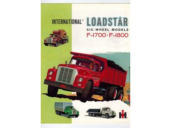 International  Loadstar F-1700/1800 1962