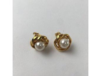 clips örhängen pärlor