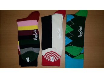Happy Socks Herr Strumpor 3 par * Argyle  Stripes Half *