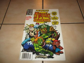 toxic crusaders serietidning nr 5 1992 toxic avenger troma