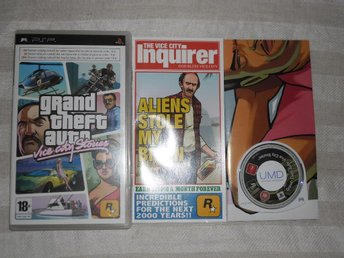 PSP: Grand Theft Auto GTA Vice City Stories
