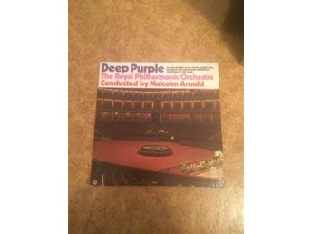 LP Deep Purple - the royal philharmonic orchestra conducted by malcom arnold