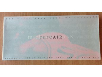 1994 Michael Jordan Rare Air Box Set med 90 standard kort