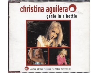 Christina Aguilera - Genie In A Bottle - 1999 - CD Maxi - Limited Edition