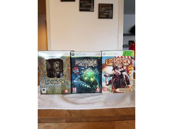 Bioshock trilogin Collectors Edition Nyskick Xbox 360