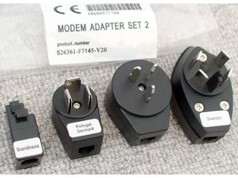 Teleplugg adapter set