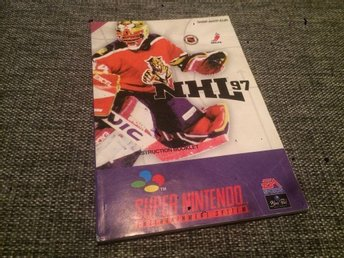 Supernintendo, SNES***Manual***NHL97***