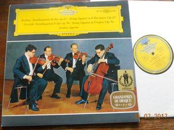 AMADEUS QUARTETT Brahms Dovrak Stråkkvartett DGG Stereo 138126 SLPM - Gävle - AMADEUS QUARTETT Brahms Dovrak Stråkkvartett DGG Stereo 138126 SLPM - Gävle