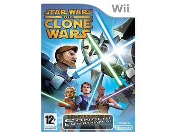 STAR WARS THE CLONE WARS LIGHTSABER DUELS (i box) till Nintendo Wii