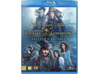 Pirates of the Caribbean, Salazar's revenge Blu-ray