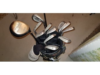 Natural golf set inkl spoon och driver