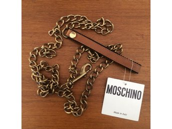 Moschino / Hundkoppel / Vintage / Redwall / Made in Italy / Mint
