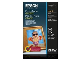 Epson Photo Paper Glossy 10x15cm 100 sheet