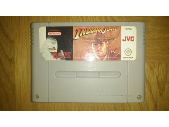 Super Nintendo/SNES: Indiana Jones Greatest Adventures (EUR)