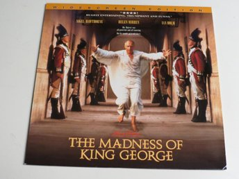 THE MADNESS OF KING GEORGE (Laserdisc) Nigel Hawthorne